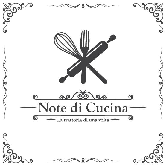 Logo notedicucina note di cucina ristorante con for Cucina logo